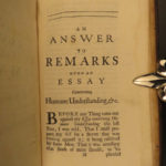 1697 John Locke Letters & Reply to Stillingfleet Human Understanding Philosophy