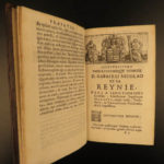 1671 1ed Arnoldus Corvini Papal LAW Imperial Dutch Netherlands Arminianism