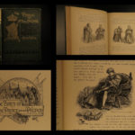 1882 1st/1st Mark Twain The Prince and the Pauper Illustrated Literature RARE