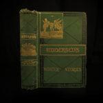 1876 Hans Christian Andersen Fairy Tales Disney Illustrated Little MERMAID