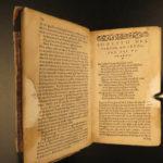 1558 Petrarch Canzoniere Italian Renaissance Poetry Petrarca Triumphs Sonnets