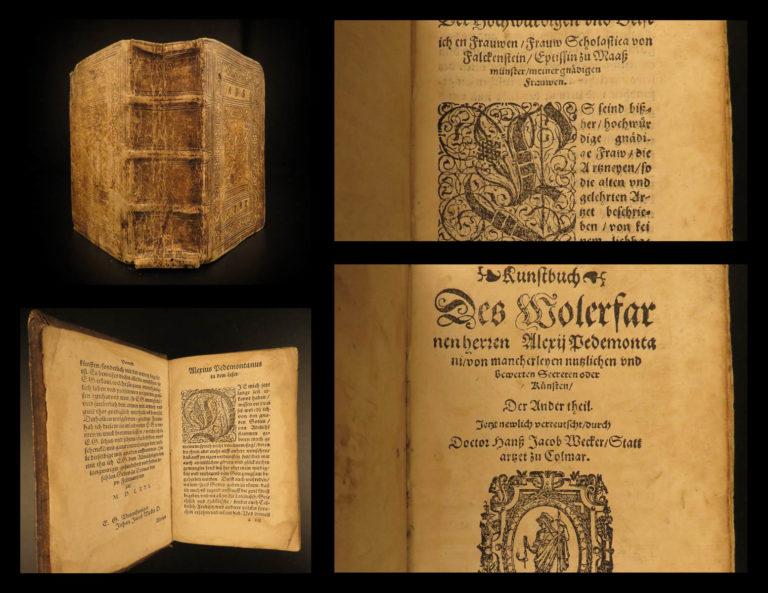 Image of 1581 Alexis of Piedmont SECRETS Occult Magic Alchemy Mysteries Medicine Wecker