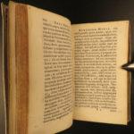 1641 In Praise of Folly Erasmus of Rotterdam Protestant Latin Encomium Moriae