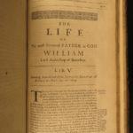 1671 William Laud Cyprianus Anglicus England Canterbury Heylyn Prynne FOLIO