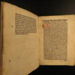 1498 1ed Trithemius INCUNABULA Spiritual MYSTICISM Magic Occult Incunable Monks