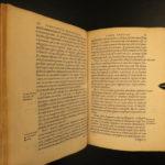 1582 Spanish Monardes Historia Medicinal Pharmacy HERBAL Tobacco Coca Cures