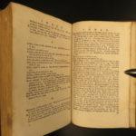 1778 Paradise Lost John Milton English Poetry Illustrated Allegory Adam & Eve