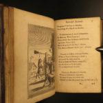 1723 Drunken Barnaby's Four Journeys Brathwait English Satire Alcohol Wine Beer