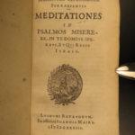 1633 Italian Savonarola Prison Bible Meditation Florence Renaissance Prophecy