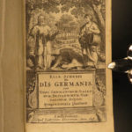 1648 1ed Ancient Germany Schedius Pagan Folklore Germanic Religions Occult