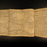 1740 Leslie History of Jamaica PIRATES Blackbeard Edward Teach Buccaneers MAPS