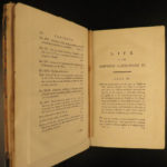1798 1ed English Life of Catherine II the Great of RUSSIA by Castera HUGE MAP 3v