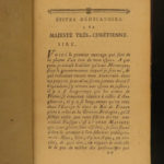 1781 History of a French Spy American Revolution Benjamin Franklin Espionage