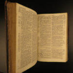 1787 RARE Alexander Kincaid Scottish HOLY BIBLE Scotland Edinburgh + Paraphrases