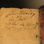 1756 Scottish Holy BIBLE Edinburgh Adrian Watkins + Belfast Psalms of David