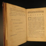 1788 1ed EARLY American System of Arithmetic Nicolas Pike Mathematics Algebra