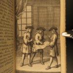 1732 BANNED edition Jonathan Swift Tale of a Tub Calvinism Catholic Satire 3v