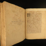 1657 1ed Poetry of Beauchasteau French Madrigals Christine of Sweden Mythology