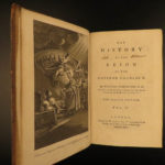 1772 History of Charles V Holy Roman Empire Scottish William Robertson 4v SET