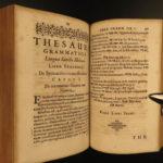 1620 Buxtorf HEBREW Aramaic & Latin Bible Dictionary Lexicon Judaica Pentateuch