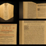 1676 John Marsham Chronology of Ancient EGYPT GREEK Hebrew Jews Bible Egyptians