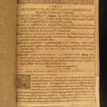 1638 World History Theatrum Historicum Chronology Marburg RARE Christoph Helwig