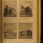 1796 1st ed History of Worcester England Britain Antiquities Architecture Coins