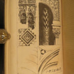 1849 1ed Seven Lamps of Architecture John Ruskin Illustrated ART Sketches