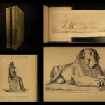 1883 1ed ART in Ancient EGYPT Archaeology Pyramids Mummies Illustrated Perrot 2v