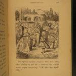 1889 Alice in Wonderland Lewis Carroll Tenniel Illustrated Fantasy Classic