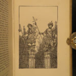 1823 1ed Ancient Mysteries Hone Mythical Creatures HELL Torture Giants Occult