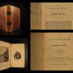 1834 EARLY Hunchback of Notre Dame de Paris Victor Hugo Bentley Novels English