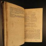 1681 ROME Valerius Maximus Dictorum Factorum Tiberius Latin Dutch Minellius