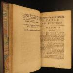 1674 1ed Malebranche Philosophy Search of Truth John Locke Influence Metaphysics