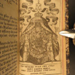 1677 Menestrier HERALDRY Principles French Coats Arms Armorial Illustrated RARE