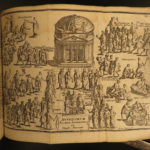 1696 Roman Republic ROME Map Military Gladiators Architecture LAW Senate Cantel
