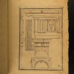 1682 Palladio Architecture Five Orders Illustrated Italian Art Vignola French
