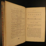 1762 1st VOLTAIRE Famous English Smollett History Philosophy Isaac Newton 12v