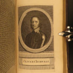 1717 English Civil War History of Rebellion Clarendon England Portraits Oxford