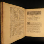 1681 Rene Descartes Principles of Philosophy Physics Metaphysics Laws of Motion