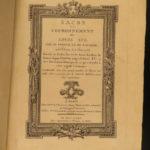 1775 1ed Louis XVI of France Sacred Coronation Illustrated ROYAL ARMS Pichon
