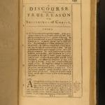 1673 Edward Stillingfleet Bible Sermons on Sufferings Christ Protestant London