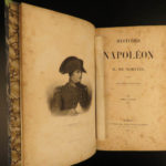 1844 Napoleon Bonaparte History by Jacques Norvins French Revolution WAR MAPS
