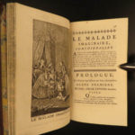 1753 Theatre of MOLIERE French Literature Misanthrope School for Wives 8v SET