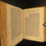1521 Aldine Sallust Catiline Conspiracy WAR Ancient Rome Attack on Cicero Aldus