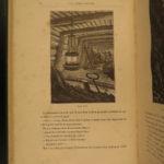 1880 VERNE Indes-Noires Underground City Scotland Cavern Mining Goblins SciFi