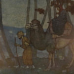 1911 Arabian Nights Edmund Dulac Illustrated Ali Baba Aladdin English Housman