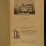 1890 EXQUISITE Saint Martin of Tours Catholic Miracles Illustrated Fine Binding