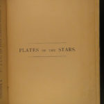 1883 The Stars NAVIGATION Nautical Astronomy Compass Rosser Illustrated MAPS