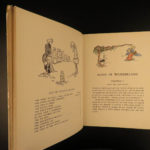 1911 Alice in Wonderland Lewis Carroll Fantasy Atwell COLOR Illustrated Classic